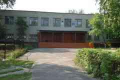 Центральный вход в школу
